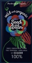 Seed & Bean Organic 100% Dark Chocolate 85g